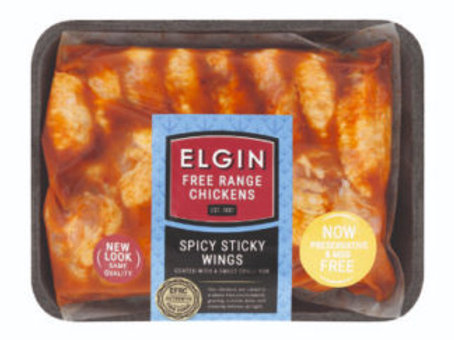 Wings - Cocktail Spicey Sticky average 630g