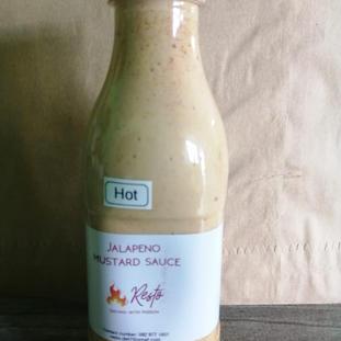 Resto Jalapeno Mustard Sauce HOT