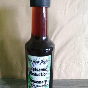 Balsamic Reduction Rosemary