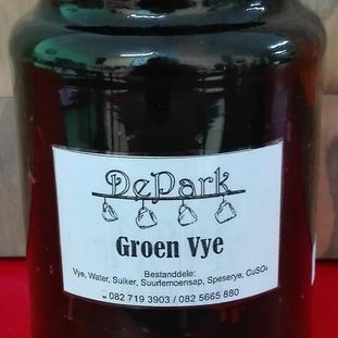 DePark Groen Vye  375ml.