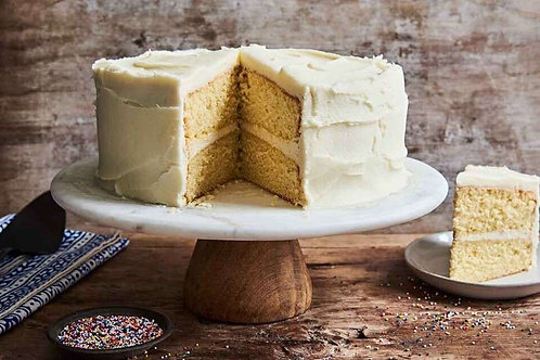 Vanilla Cake with butter cream