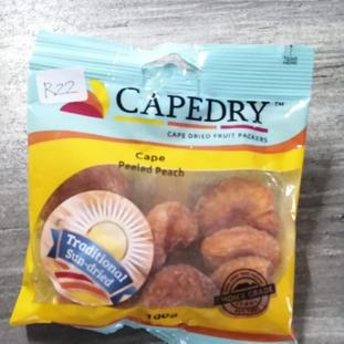 Cape Peeled Peach (Traditional Sun-dried)