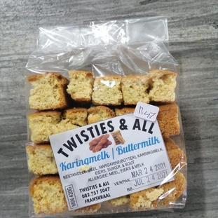 Twisties & All Karingmelk / Buttermilk
