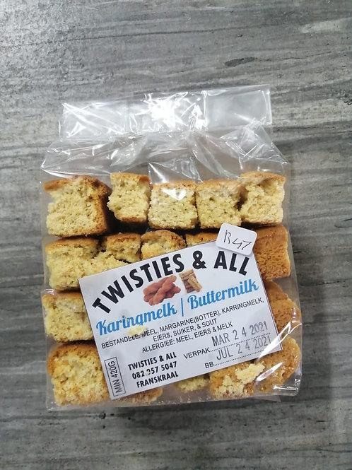 Twisties & All Karingmelk / Buttermilk Rusk