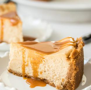 Baked Caramel Cheese Cake