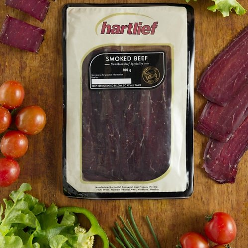 Hartlief Smoked Beef 100g