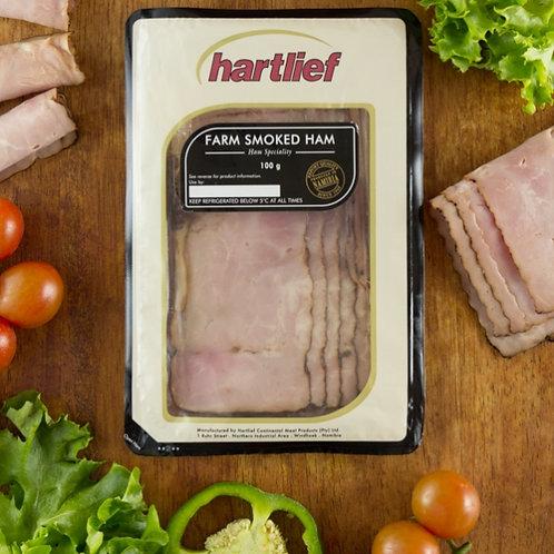 Hartlief Farm Smoked Ham 100g