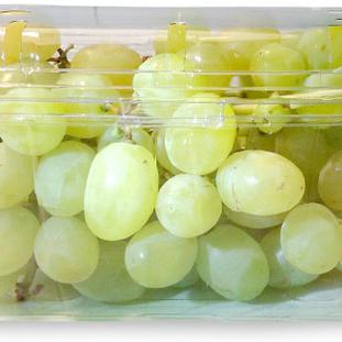 Grapes White Seedles Punnet.