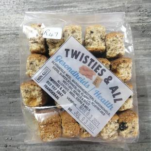 Twisties & All Gesondheids/Health Rusk