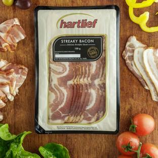 Streaky Bacon 150g.