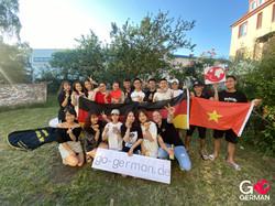 Gruppenfoto - Auszubildende Vietnam