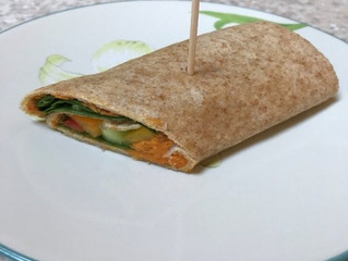 Quick and Easy Vegetable (Functional Food) Wrap