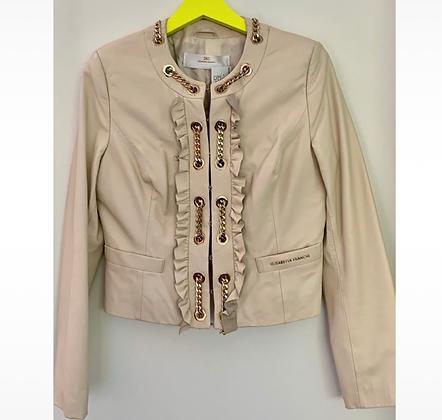 """""""Elisabetta Franchi"""" leather jacket"""