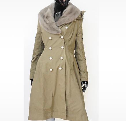 """""""Ermanno Scervino"""" coat"""