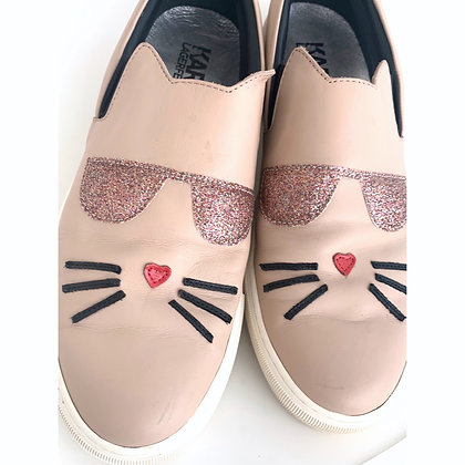 """""""Karl Lagerfeld"""" loafers"""