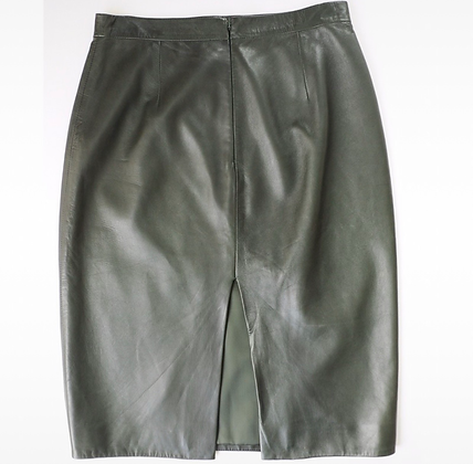 """Gucci"" leather skirt"