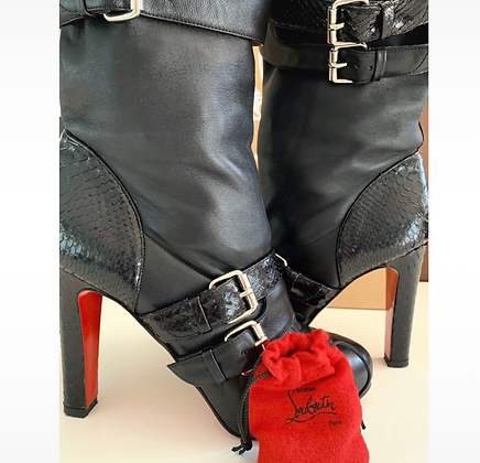 """""""Louboutin"""" boots"""