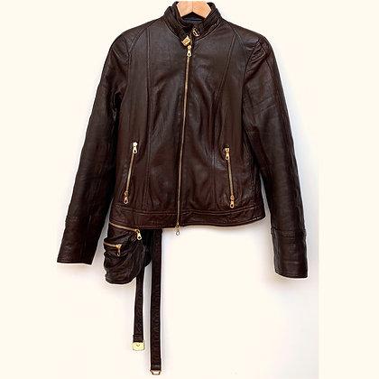 """Aphero"" leather jacket"
