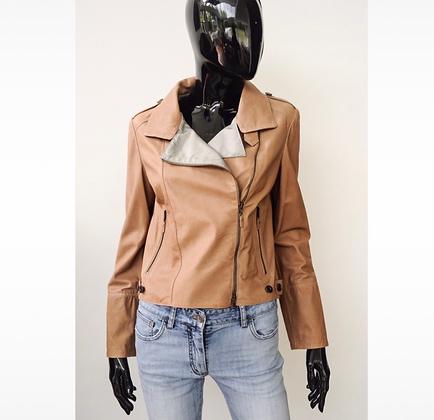 """Brunello Cucinelli"" leather jacket"