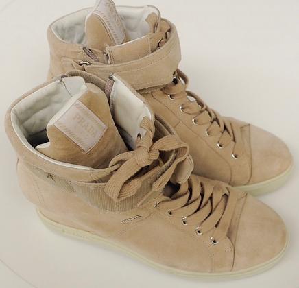 """Prada"" ankle boots"