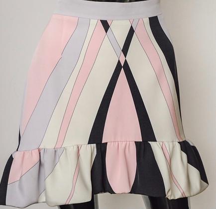 """""""Emilio Pucci"""" skirt"""