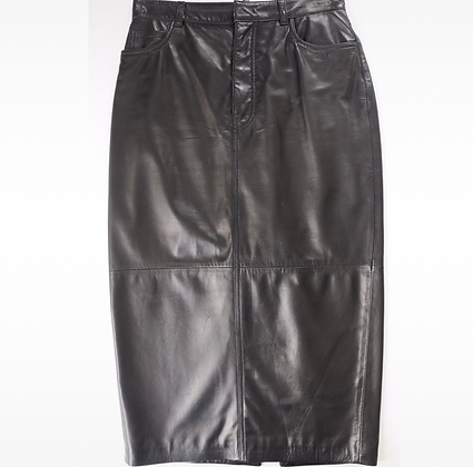 """Dsquared2"" leather skirt"