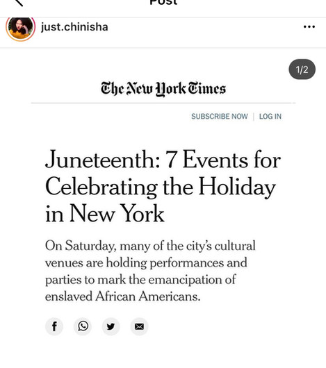 New York Times 2021