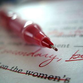 The Red Pen ~ Friend or Foe?