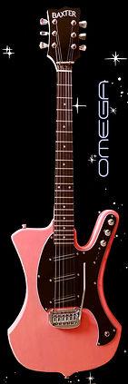 Baxter Omega Electric Guitar
