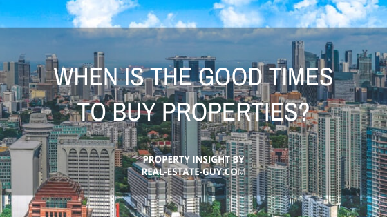 when is the good time to buy  properties?