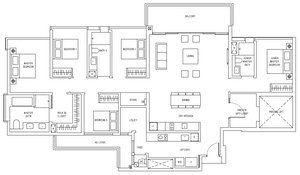 Jadescape 5 Bedrooms 2099 sqft