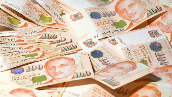 why singapore currency is strong