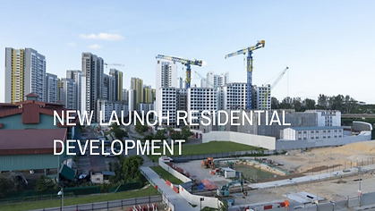 new launch residential development in Singapore