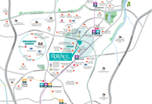 Transportation link  within The Florence Residence