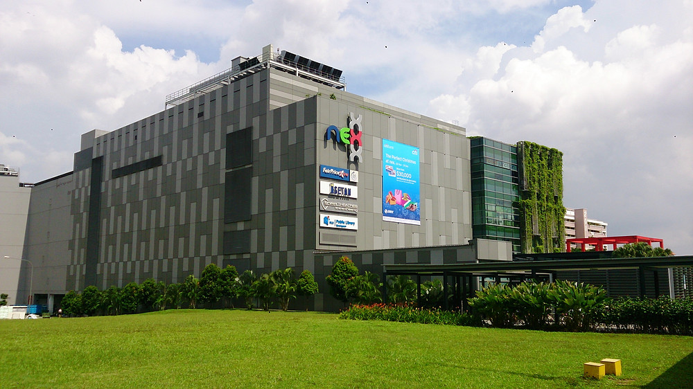 The Nex Mega Mall is only 2 Stations from Hougang MRT station, the Florence Residence