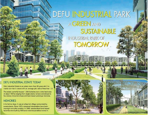 The Revamping of Defu Industrial park, provide better invetments value for the Florence Residence