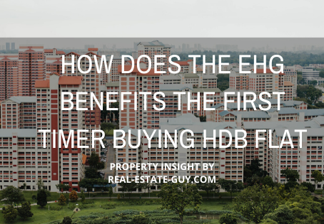 How does the EHG  benefit the first timer Buying HDB flat?