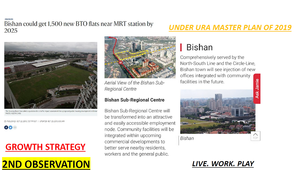 Jadescape in the fast growing Bishan new master plan