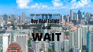 property prices changing now and then, whenyou buy a Real Estate then you are actually lock in the price.