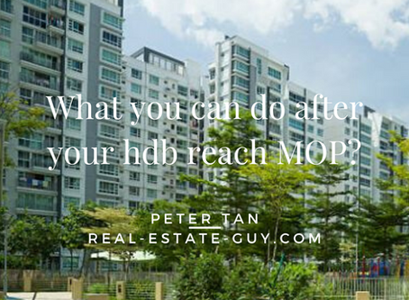 What can you do after your HDB flat reach MOP?