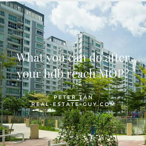 what can you do after your hdb flat reach MOP
