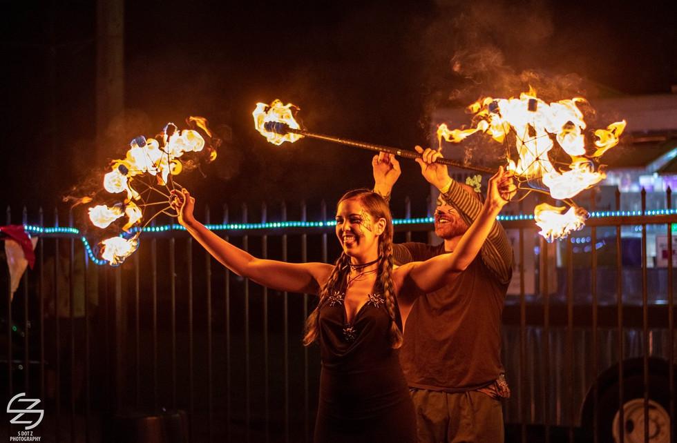 Fort Worth Fire Beats Performance
