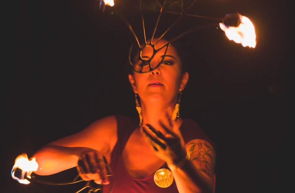 Fire Beats w/ Fire Fans