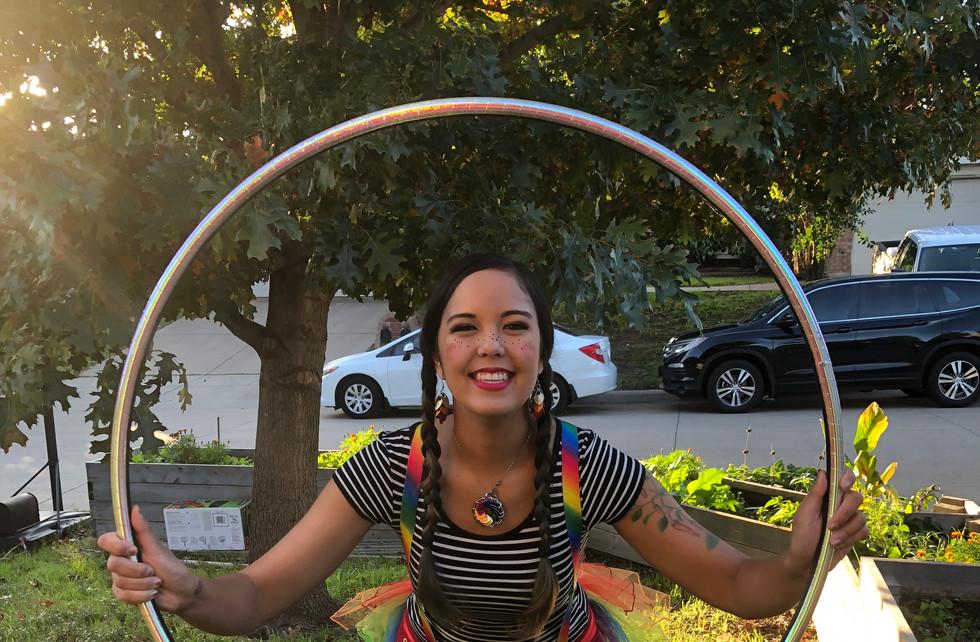 Circus Hula Hoop Fun