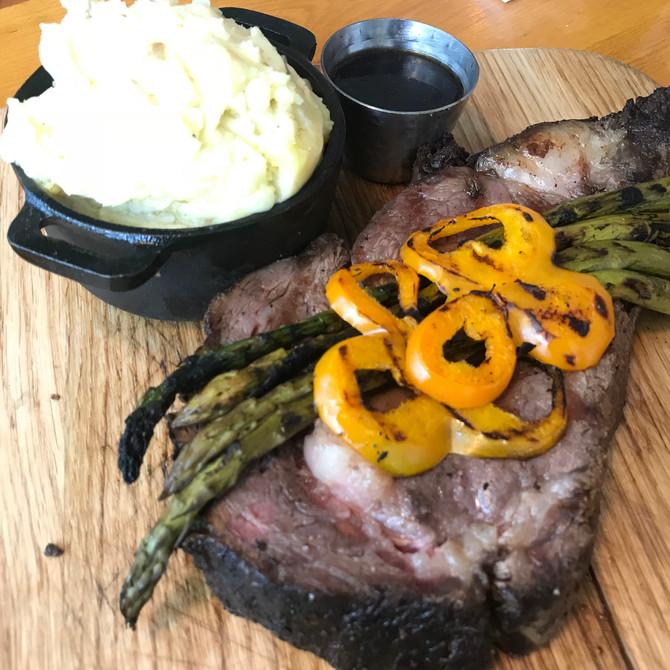 【グルメ】絶対満足!燻製ステーキが食べられる店「ファイヤーグリル」