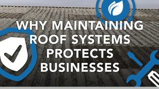 Why Maintaining Roof Systems Protects Businesses