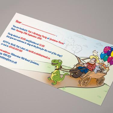 Приглашение на детский праздник