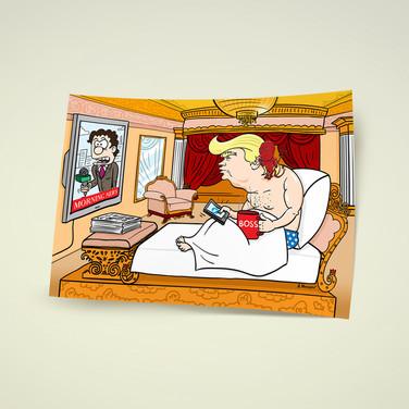 Иллюстрация для политического блога