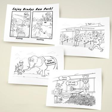 Иллюстрации для сайта www.beavercountian.com