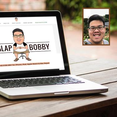 Шарж на главную страницу сайта www.siglapbobby.com